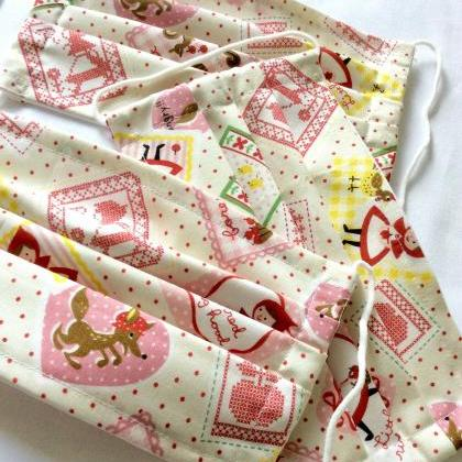 Mask reusable cotton fabric print c..