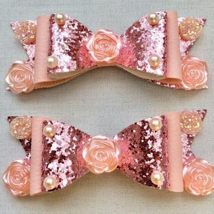 Beautiful Classic Lolita hair bows ..