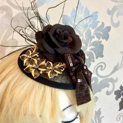 Elegant Fascinator Wedding Vintage ..