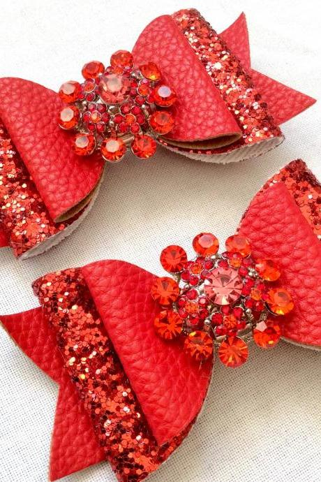 Beautiful jewelry hair bow pearls cabochon resin vintage rhinestone kawaii rot a fairytale brooch pin jewelry barouque rokoko wedding